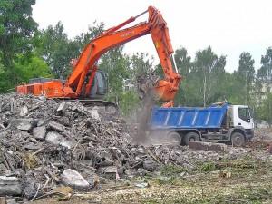 снос и демонтаж промышленных зданий